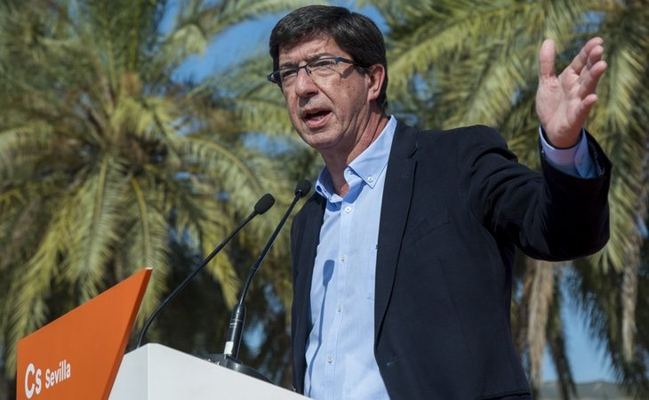 Juan Marín, el representante de Ciudadanos