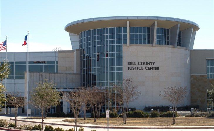 El centro de justicia del Condado de Bell