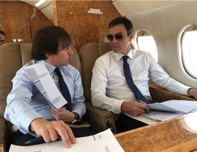 El catering exclusivo y delicatessen del avión presidencial de Sánchez a 120.000 euros