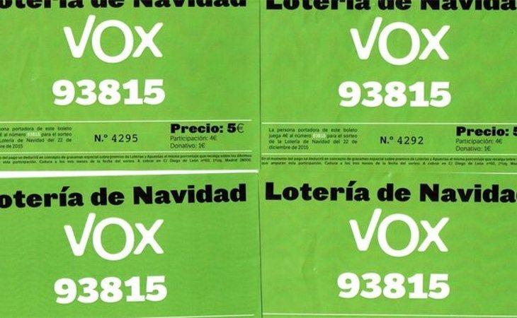 Las participaciones distribuidas por el CEN con el primer número | Vozpópuli