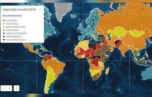 Estos son los países más peligrosos que debemos evitar, según Exteriores (y hay sorpresas)