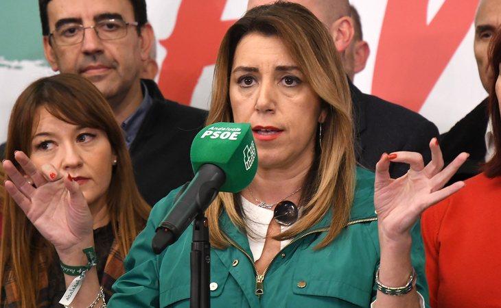 Susana Díaz, la gran derrotada de las elecciones andaluzas