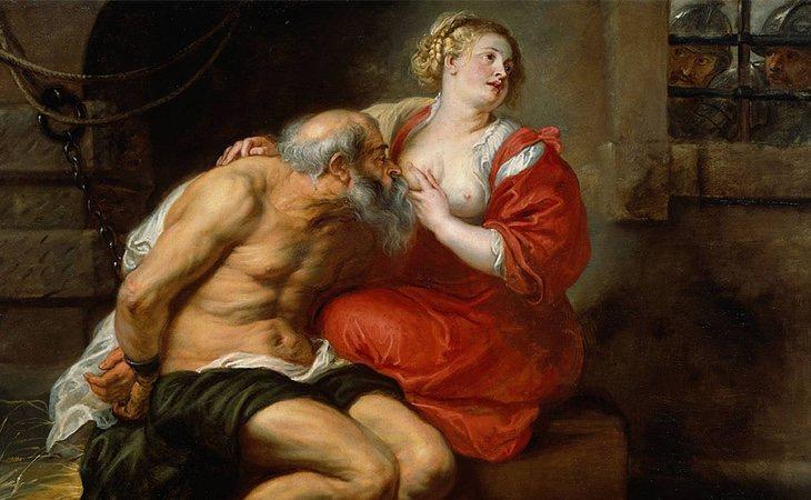 'Cimón y Pero' (1630) de Rubens