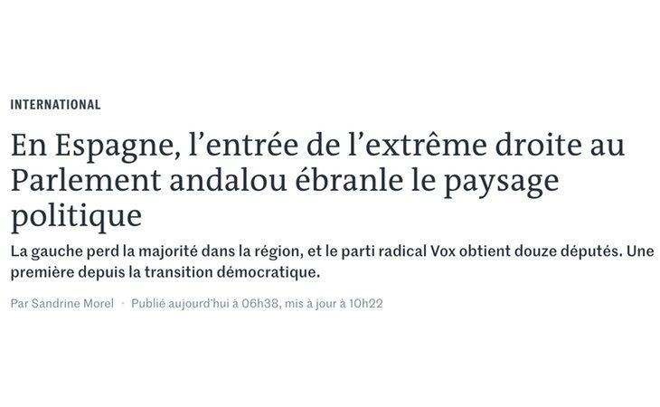 Agrupación Nacional, el partido de Le Pen tiene 8 escaños en la Asamblea Nacional