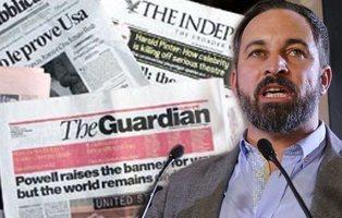 La prensa internacional advierte sobre VOX y el auge de la extrema derecha en España