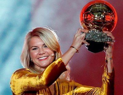 """""""¿Sabes perrear?"""": Ada Hegerberg gana el Balón de Oro y le preguntan si haría twerking"""