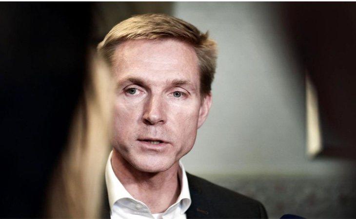 El líder del DF, Kristian Thulesen Dahl