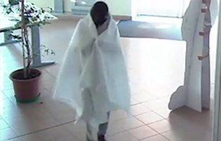 El ridículo ladrón que se disfraza de fantasma para robar cuadros