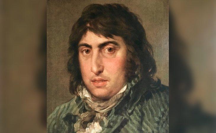 Retrato de Martín Zapater por Francisco de Goya