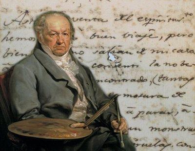"""Unas cartas escritas por Goya a su """"amigo amoroso"""" podrían confirmar su homosexualidad"""