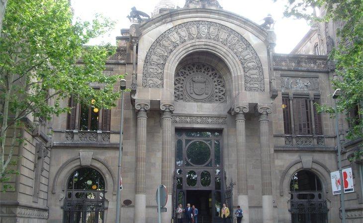 El Palau de Justicia, donde se encuentra la Audiencia de Barcelona