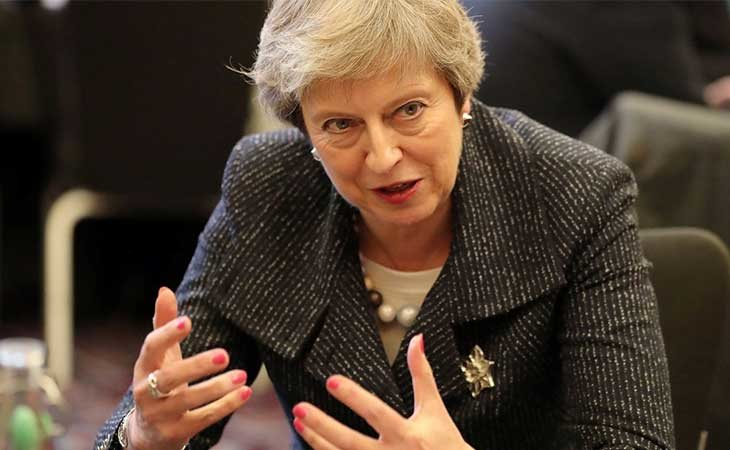 La primera ministra británica, Theresa May, ha planteado la posibilidad de que el Brexit no llegue a producirse