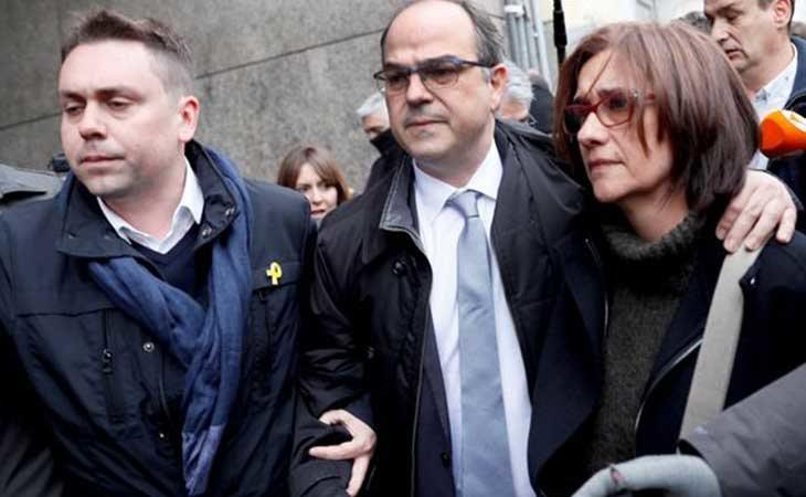Jordi Turull en huelga de hambre