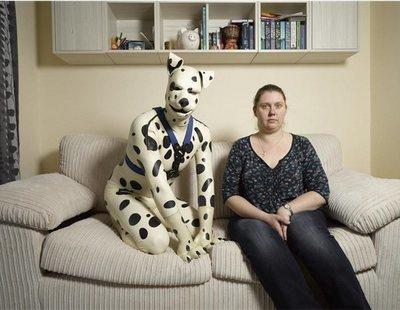 La extraña afición de un hombre por vivir como si fuera un cachorro de dálmata