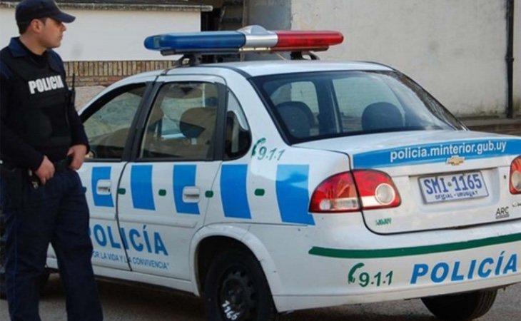 La policía uruguaya