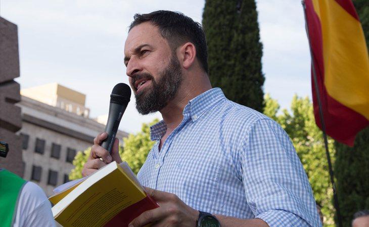 Santiago Abascal pretende derogar la ley de violenvia de género