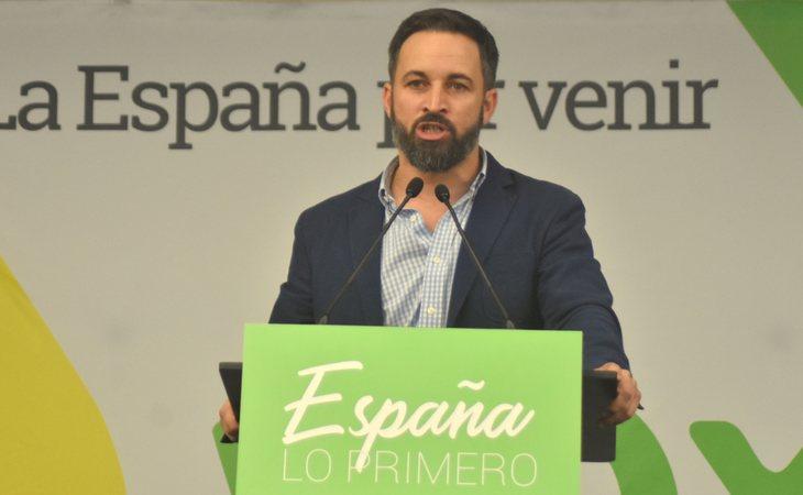 Santiago Abascal ha lanzado proclamas racistas en sus discursos