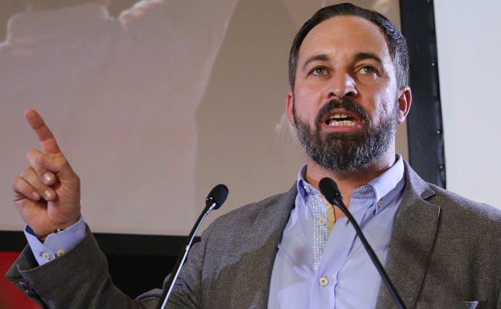 Santiago Abascal se cree el salvador de la patria