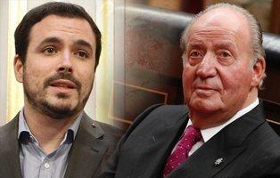 IU y el PCE se querellan contra Juan Carlos I por constituir un grupo criminal