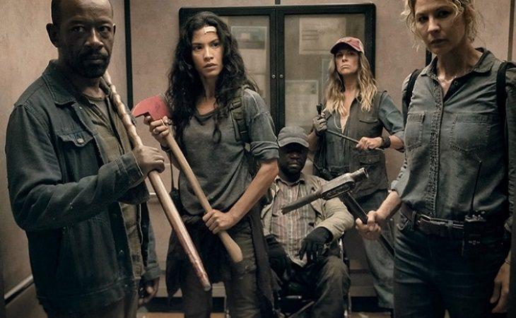 Los protagonistas de la cuarta temporada de 'Fear The Walking Dead'