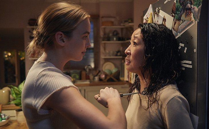 Jodie Comer y Sandra Oh en 'Killing Eve'