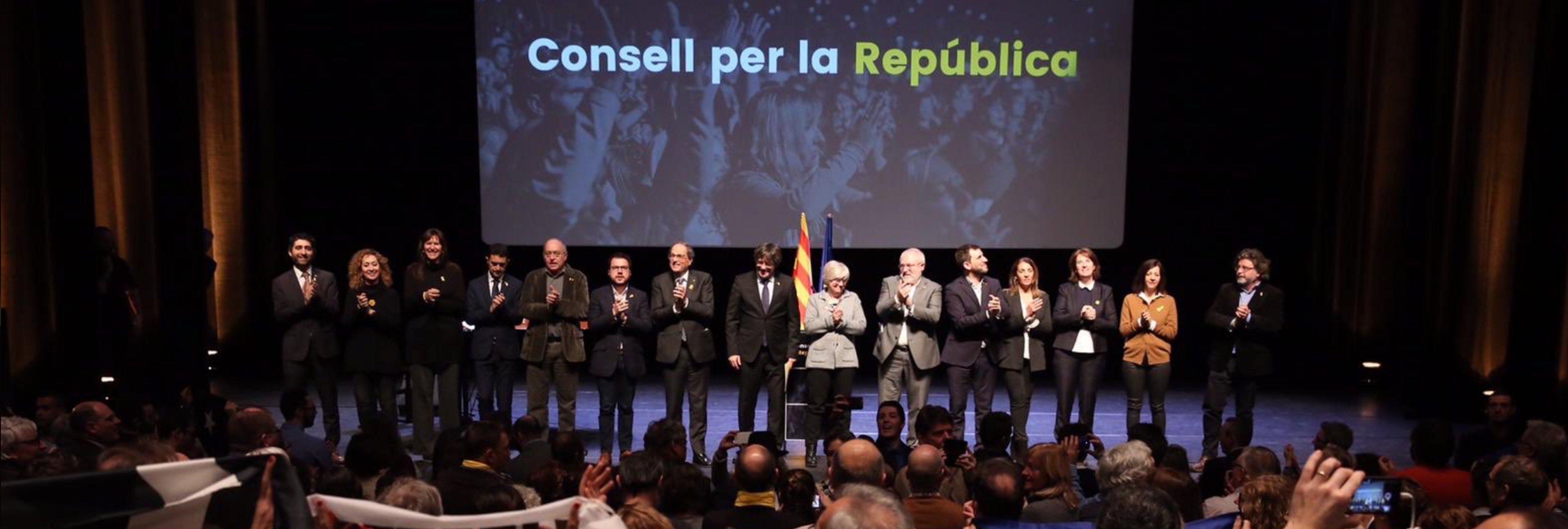 Críticas a Torra por pedir que Cataluña siga los pasos de la separación violenta eslovena