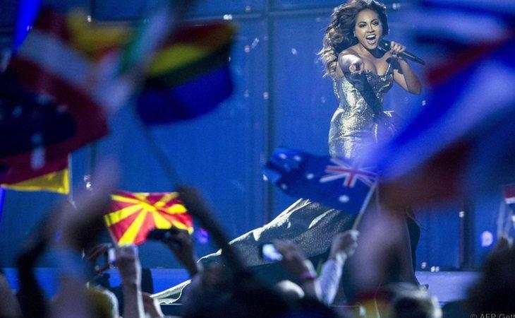 Jessica Mauboy, representante de Australia en Eurovisión 2018