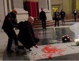 El artista que pintó la tumba de Franco es acusado de daños y desorden público