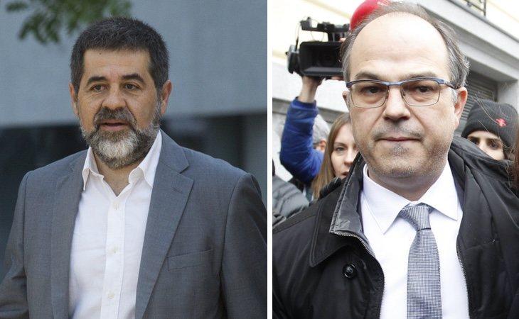 Jordi Sànchez y Jordi Turull llevan en huelga de hambre desde el 1 de diciembre