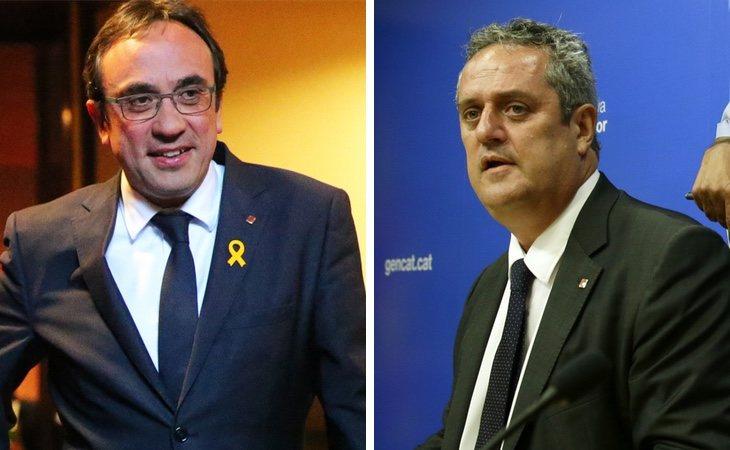 Josep Rull ya ha perdido tres kilos y Joaquim Forn siete