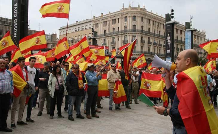 El apego a la bandera española a la baja