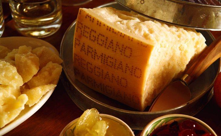 El queso parmesano es de los más consumidos