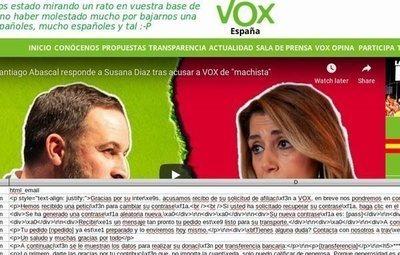 ¿Quiénes son los 30.000 simpatizantes de VOX que publica Anonymous tras hackear su web?