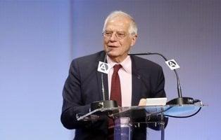 """Borrell dice que la """"política de ibuprofeno"""" está intentando calmar los ánimos en Cataluña"""