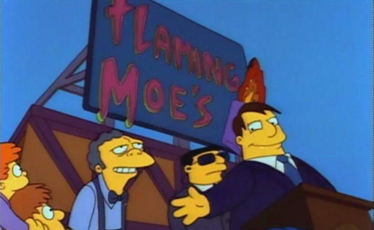 El alcalde Quimby declara el 'Día del Flameado de Moe'