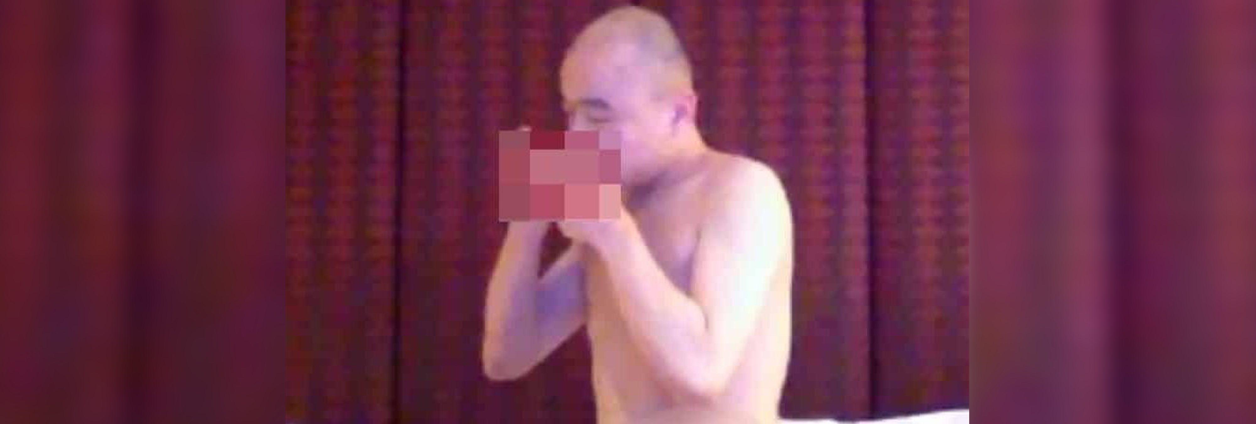 Pillan a un monje budista drogándose y teniendo sexo en pleno templo