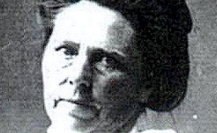 Una de las pocas imágenes que se conservan de Madame Popova