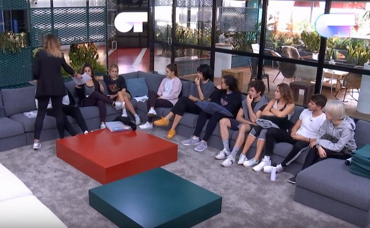 Noemí reprocha a los concursantes de 'OT 2018' su actitud