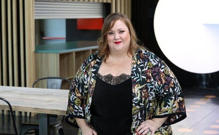 Itziar Castro posa como profesora de 'OT 2018'