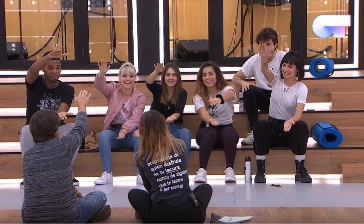 Los concursantes de 'OT 2018' en el reparto de temas de Eurovisión