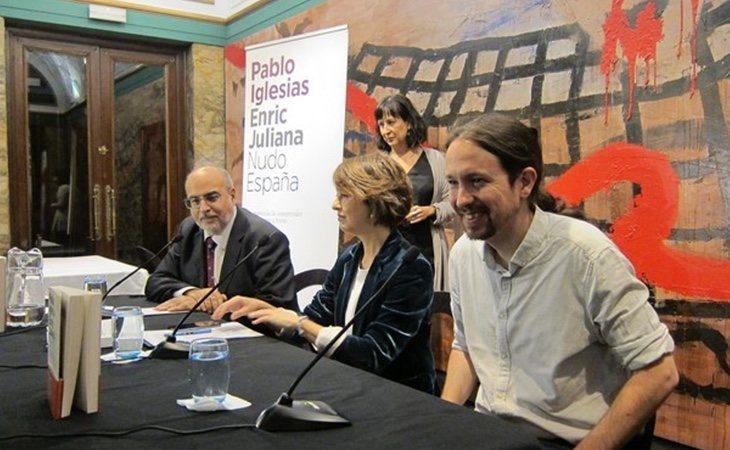 Enric Juliana y Pablo Iglesias presentan su libro por todo el país | Europa Press
