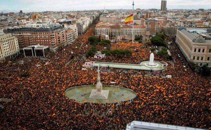Carlos considera que la manifestación en Colón fue un éxito