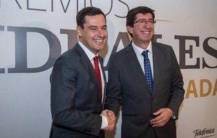 El pacto PP y Ciudadanos en Andalucía plantea subirse el sueldo hasta un 50%