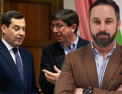 Pacto con la extrema derecha: Ciudadanos y PP abren las puertas a VOX en Andalucía