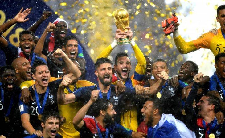 Francia gana el Mundial de Fútbol