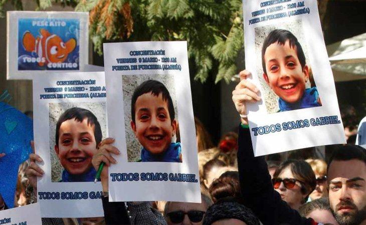 El caso del pequeño Gabriel conmocionó a España