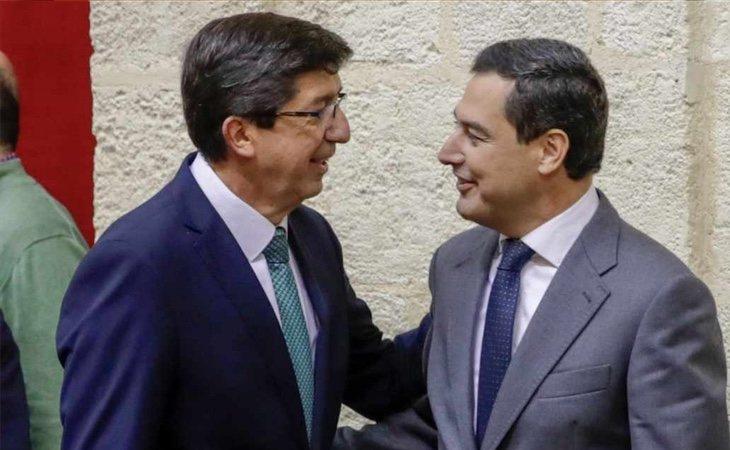 PP y Ciudadanos formarán un gobierno de coalición en Andalucía