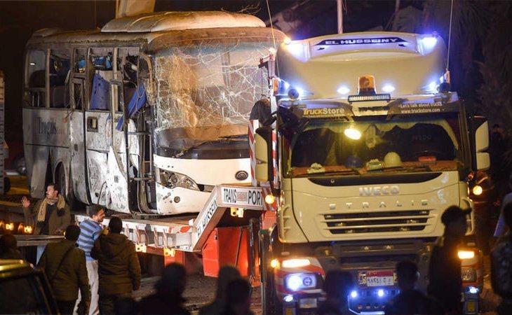 El atentado dejó cuatro muertos y una decena de heridos