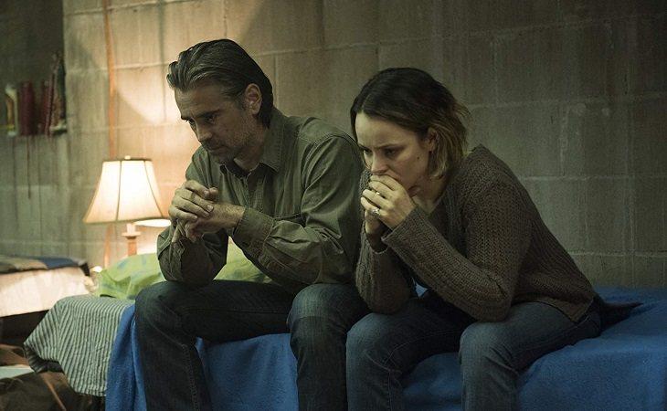 Colin Farrell y Rachel MacAdams en 'True Detective'