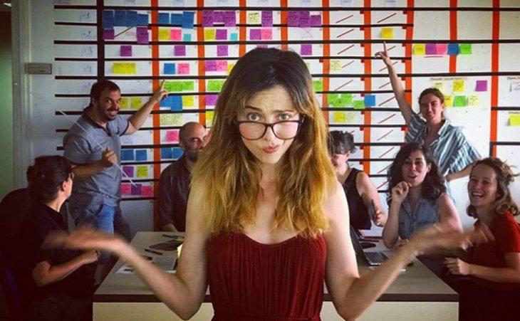 Leticia Dolera, una de las directoras y protagonistas de 'Déjate llevar'